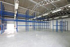 Empty storage room Royalty Free Stock Photos