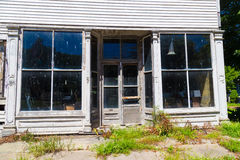 Empty Store Building in Mainesburg PA Royalty Free Stock Images