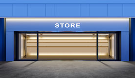 Empty store Stock Images
