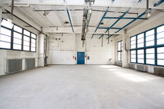 Empty storehouse. Picture of an empty storehouse Royalty Free Stock Photos