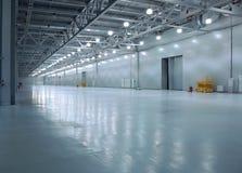 Empty storehouse Royalty Free Stock Photography