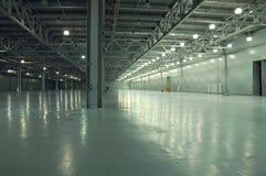 Empty storehouse Stock Images