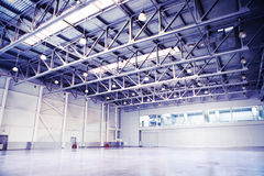Empty  storehouse Stock Photos