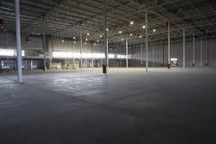 Empty Storehouse. Large empty storehouse Royalty Free Stock Photography