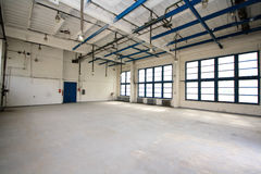 Empty storehouse Stock Image