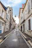 Empty Street in old town Royalty Free Stock Photos