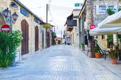 The empty street Stock Image
