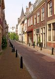 Empty Street of Utrecht Stock Images