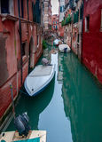 Small canal in Venice, Italy. Royalty Free Stock Image