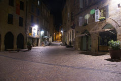 Empty streets in the old town Royalty Free Stock Image