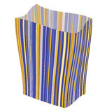 Empty striped package Royalty Free Stock Images