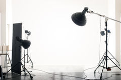 Empty studio royalty free stock photos