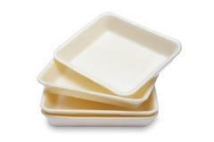 Empty Styrofoam Royalty Free Stock Photo