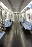 Empty Subway Car Royalty Free Stock Image