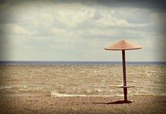 Empty Summer Beach Stock Photography
