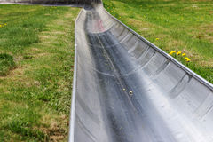 Empty summer toboggan run Royalty Free Stock Photos
