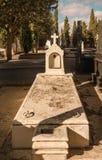 Empty sunny grave Royalty Free Stock Photography