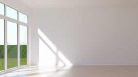 Empty sunny room Royalty Free Stock Photo