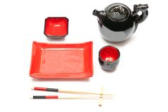Empty sushi set Royalty Free Stock Image