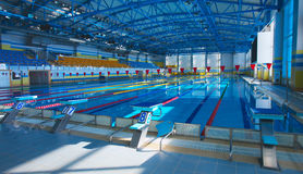 Empty swiming pool Stock Photos