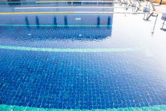 Empty  swimming pool Royalty Free Stock Image