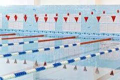 Empty swimming pool Stock Photos