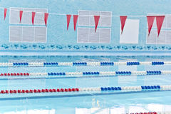 Empty swimming pool Royalty Free Stock Photography