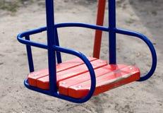 Empty swing Stock Photography
