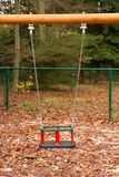 Empty swing Stock Images