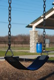 Empty Swing. Image of an empty swing on a play ground Stock Image