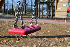 Empty Swing Royalty Free Stock Photos