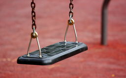 Empty swing Royalty Free Stock Photo