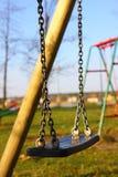 Empty swing Stock Photos