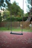 Empty swing. Stock Photo