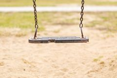 Empty swing Royalty Free Stock Images