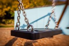Empty swing Stock Photo