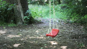 Empty Swing stock video