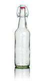 Empty swing top bottle Stock Image