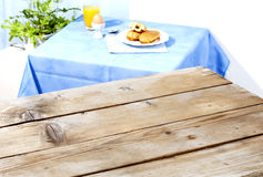 Empty table Royalty Free Stock Image