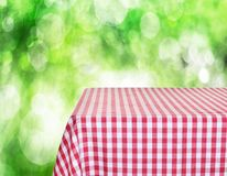 Empty table Royalty Free Stock Photo