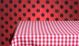 Empty table Royalty Free Stock Photos