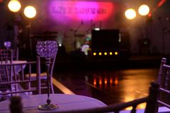 Nightclub or lounge interior stock photos
