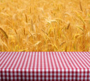 Empty table Royalty Free Stock Photos