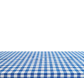 Empty table isolated on white background - use for your photomontage or product display Royalty Free Stock Image