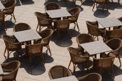 Empty Tables Royalty Free Stock Images
