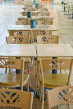 Empty Tables Stock Photography