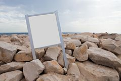 Empty tablet Royalty Free Stock Image