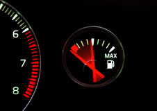 Empty tank Royalty Free Stock Photo