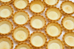 Empty tartlets Royalty Free Stock Image