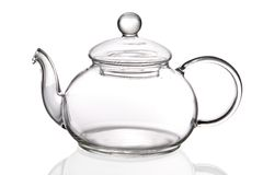 Empty teapot Stock Images